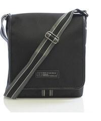 Černá taška přes rameno Enrico Benetti 4473 černá