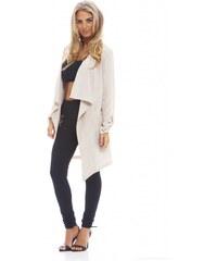 TFNC Elegantní béžový kabát