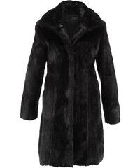 bpc selection Manteau en synthétique imitation fourrure noir manches longues femme - bonprix