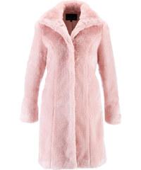 bpc selection Manteau en synthétique imitation fourrure rose manches longues femme - bonprix