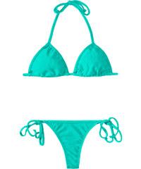 Rio De Sol Bikini String Bleu Turquoise, Triangle Coulissant - Mare Cort Micro