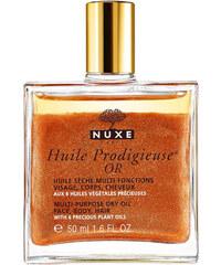 Nuxe Huile Prodigieuse Or Multi Purpose Dry Oil 100ml Pleťové sérum, emulze W Suchý multifunkční olej rozjasňuje