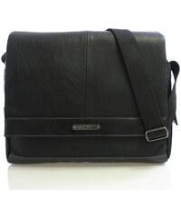 Černá taška přes rameno Enrico Benetti 4480 černá