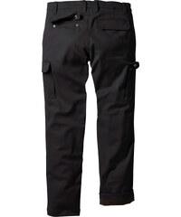 bpc bonprix collection Pantalon cargo thermo Regular Fit Straight, N. noir homme - bonprix