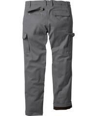 bpc bonprix collection Pantalon cargo thermo Regular Fit Straight, N. gris homme - bonprix