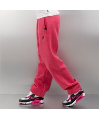 Just Rhyse Woman Basic Sweat Pants Red Melange