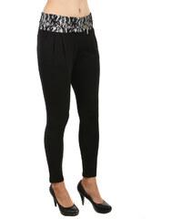 TopMode Krásné netradiční kalhoty s krajkou