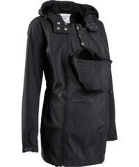 bpc bonprix collection Umstandsmoden Softshelljacke mit Baby-Einsatz langarm in schwarz für Damen von bonprix