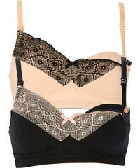 """bpc bonprix collection Nice Size Lot de 2 soutiens-gorge d""""allaitement, Bon. B noir femme - bonprix"""