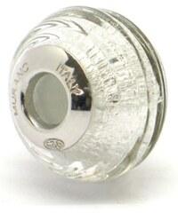 Vinutá perla Dora - benátské sklo - Murano - farig51