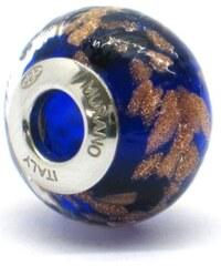 Vinutá perla Dora - benátské sklo - Murano - ram3
