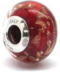Vinutá perla Dora - benátské sklo - Murano - ram2
