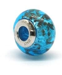 Vinutá perla Dora - benátské sklo - Murano - rsc3