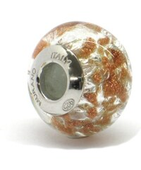 Vinutá perla Dora - benátské sklo - Murano - rsc1