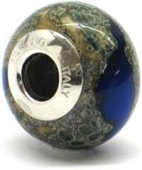 Vinutá perla Dora - benátské sklo - Murano - rst7