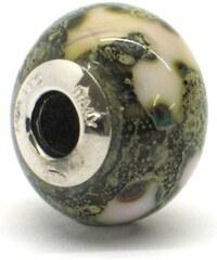 Vinutá perla Dora - benátské sklo - Murano - rst5