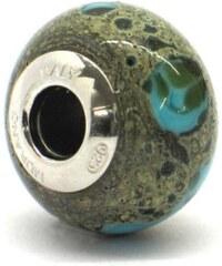 Vinutá perla Dora - benátské sklo - Murano - rst2