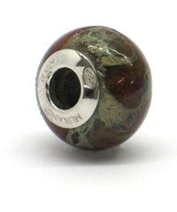 Vinutá perla Dora - benátské sklo - Murano - rst1