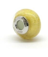 Vinutá perla Dora - benátské sklo - Murano - fo107