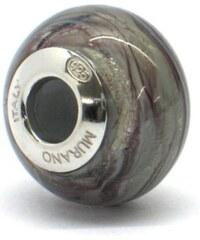 Vinutá perla Dora - benátské sklo - Murano - rmir4
