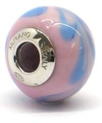 Vinutá perla Dora - benátské sklo - Murano - rhd10