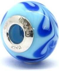Vinutá perla Dora - benátské sklo - Murano - rhd9