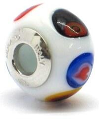 Vinutá perla Dora - benátské sklo - Murano - rm504