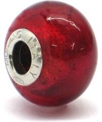 Vinutá perla Dora - benátské sklo - Murano - fo94