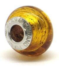 Vinutá perla Dora - benátské sklo - Murano - fo080