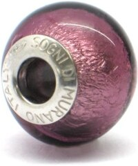 Vinutá perla Dora - benátské sklo - Murano - fa68