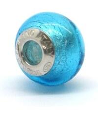 Vinutá perla Dora - benátské sklo - Murano - fa53