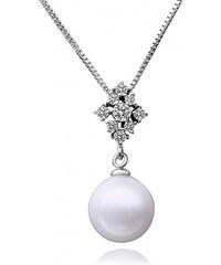 KRYSTYS Stříbrný perlový náhrdelník Ag925 Mariage