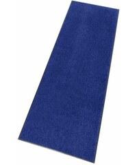 SALONLOEWE Läufer Uni waschbar In- und Outdoor mit rutschhemmender Beschichtung blau 10 (B/L: 115x115 cm),11 (B/L: 60x180 cm),12 (B/L: 75x190 cm),13 (B/L: 115x175 cm),2 (B/L: 75x120 cm)