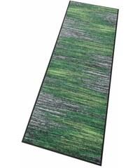 WASH+DRY BY KLEEN-TEX Läufer wash+dry Scratchy rutschhemmend beschichtet grün 19 (B/L: 60x180 cm)
