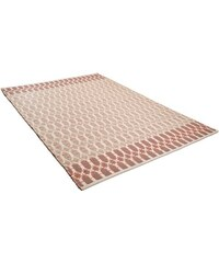 Teppich Small Pattern handgearbeitet Wolle Tom Tailor rot 2 (B/L: 65x135 cm),3 (B/L: 140x200 cm),4 (B/L: 160x230 cm)