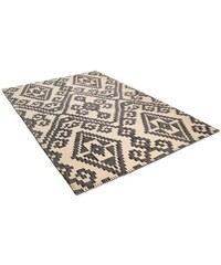 Teppich Large Pattern Kelim handgearbeitet Wolle Tom Tailor schwarz 2 (B/L: 65x135 cm),3 (B/L: 140x200 cm),4 (B/L: 160x230 cm)