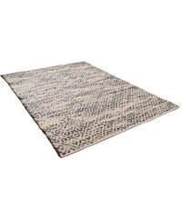 Teppich Diamond handgearbeitet Wolle Tom Tailor grau 11 (B/L: 85x155 cm),2 (B/L: 65x135 cm),6 (B/L: 190x290 cm)