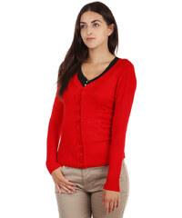 TopMode Elegantní svetr červená