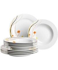 Domestic Porzellan-Serie Akadien weiß
