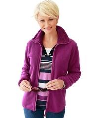 Collection L. Fleece-Jacke mit flauschig weichem Futter