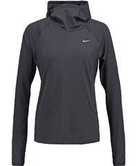 Nike Performance ELEMENT Langarmshirt black/reflective silver