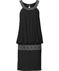 BODYFLIRT Cocktail-Kleid in schwarz von bonprix