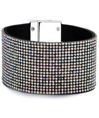 Guess Náramek Katie Rhinestone Cuff Bracelet