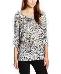 VILA CLOTHES Damen Langarmshirt Vikaktas Animal Top, Animalprint