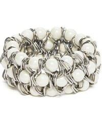Guess Náramek Gia Pearl-Bead Bracelet