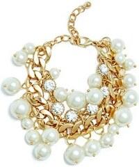 Guess Náramek Emma Pearl-Bead Charm Bracelet