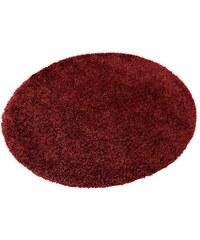 Hochflor-Teppich rund Cosy Glamour Höhe ca. 40 mm gewebt mit Melange-Effekt Esprit Home braun 10 (Ø 200 cm),9 (Ø 120 cm)