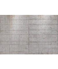 KOMAR Fototapete Concrete Blocks 368/254 cm grau