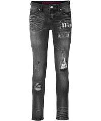 RAINBOW Jean skinny noir femme - bonprix