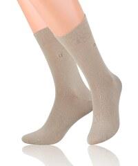 Ponožky pánské Steven 056, béžová